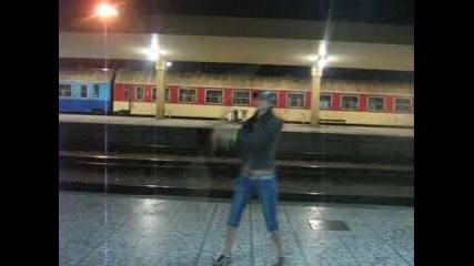 Въртене На Стаф На Жп Гара Пловдив