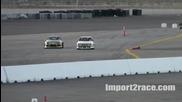 Drift Corolla Ae86 vs Mazda Rx-7 Ls6