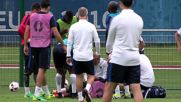 France: French team hold open training session ahead of Iceland clash