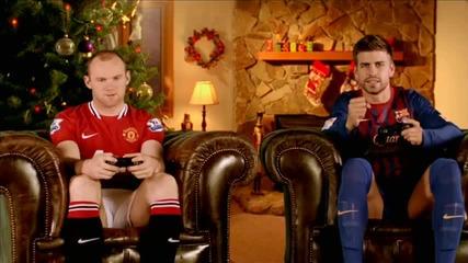 Fifa 12 - Коледна реклама