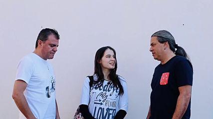 Интервю със Славчо и Наско от Б.т.р./ Репортери Василена и Петко от в-к
