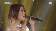130922 Soyou ft. Mad Clown - Stupid In Love @ Inkigayo