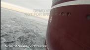 Операция за разбиване на ледовете в езеро Мичиган 5.1.2014