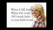 Jessica Simpson - Your Faith In Me