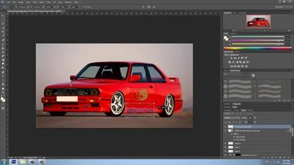 Photoshop Cs6 | Virtual Car Tuning | Bmw E30 #3