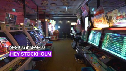 A peek inside one of the coolest arcades in Stockholm