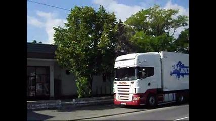 Scania V8 sound в България
