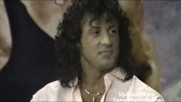 Силвестър Сталоун дава интервю на Опра Уинфри през 1988