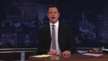 Axl Rose on Jimmy Kimmel Live - Интервю