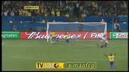 21.06 Италия - Бразилия 0:3 Луиш Фабиано втори гол ! Купа на Конфедерациите