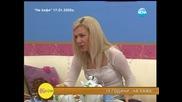 """10 години """"На кафе"""" - гости певицата Преслава и актьора Васил Мавриков"""
