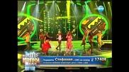 Стефания Колева като Шакира - Като две капки вода - 10.03.2014 г.