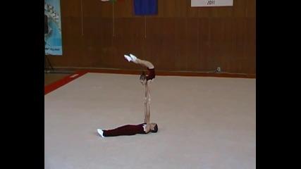 Акробатика Диш Горна Оряховица Многобой - Баланс