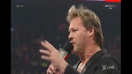 Роман Рейнс търси разплата с Брок Леснар + Крис Джерико и Лигата на нациите - WWE Raw - 18.01.16