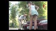 Голи и смешни - Еротично помпане на гума