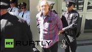Арести по време на протестите срещу ядрените оръжия след речта на Кери в ООН