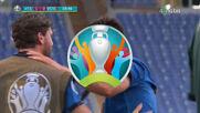 Италия - Уелс 1:0 /репортаж/