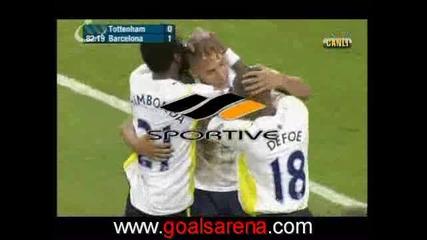 Тотнъм - Барселона 1 - 1 24.07.2009 (контрола)