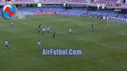 Gerard Deulofeu vs Deportivo (semifinal Copa del Rey 2011) [ Airfutbol-com