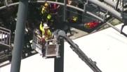 Австралийци прекараха 2 часа блокирани на увеселително влакче