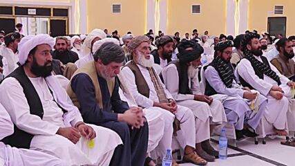 Afghanistan: Kandahar locals meet with Taliban officials in support of new govt