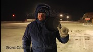 Замръзване на яйце при -40c през зимата в щата Минесота 2.1.2014