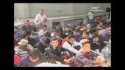 73 - ма нелегални пътници, скрити в камион с дини, задържаха служители на Гранична полиция