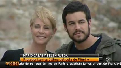 """Марио Касас и Белен Руеда на снимките на """"исмайл"""""""