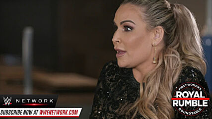 Charlotte Flair, Sasha Banks, Natalya and Mickie James reflect on Royal Rumble 2018 (WWE Network Exclusive)