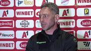 Петър Колев: С много наши действия на терена спомогнахме резултатът да е такъв