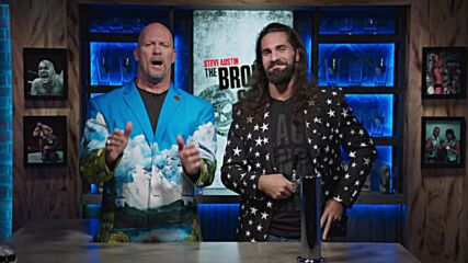 Who joins Seth Rollins on his Mount Rushmore of Drip?: Steve Austin's Broken Skull Sessions extra