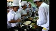 Безработни в Манила използват уменията си за готвене