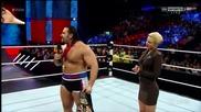 Wwe Raw 12.01.2015 Александър Русев vs Дийн Емброуз