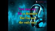 John Lennon - Imagine (karaoke)