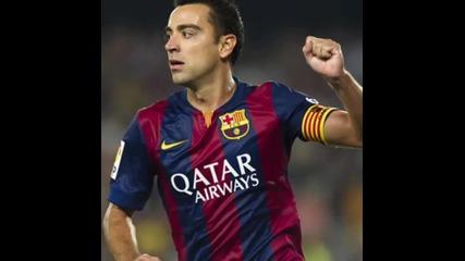 Благодарим ти легендо! Xavi