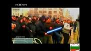 Star wors пародия на протеста в България