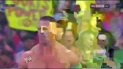 Wwe Summerslam 2012 Cm Punk Vs John Cena Vs Big Show [ Wwe Champiponship Match ]