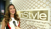 TV Star Odette Annable Gets Glammed Up