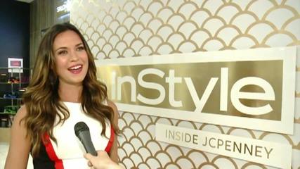 TV Star Odette Annable Gets Glammed Up