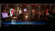 Jay - Z, Rihanna, Bono and The Edge - Stranded (haiti Mon Amour) Live