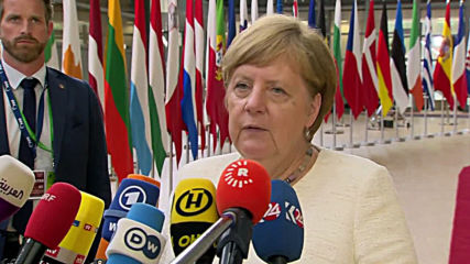 Belgium: Merkel joins top European leaders for EU Commission summit