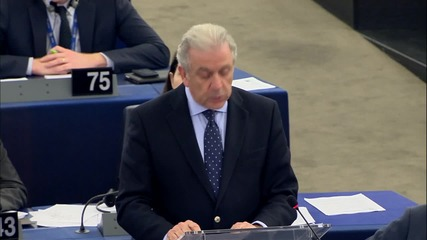 Belgium: Avramopoulos calls for unity as MEPs argue over Schengen