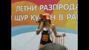 Ели Раданова от Music Idol 3 в Мола на Стара Загора