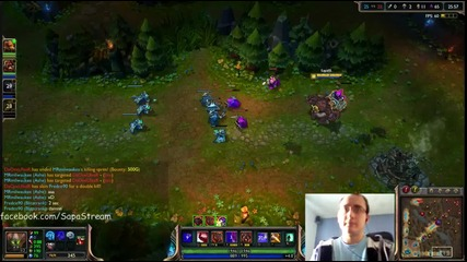 League of Legends игра с Malphite Ranked 2 Duo