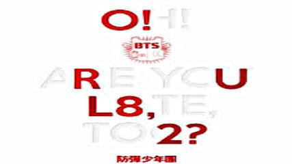 [full Album] Bts (bangtan Boys)-o!rul8,2 [1st Mini Album~mini Album]