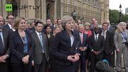 Първо изявление на Тереза Мей: Брекзит означава Брекзит