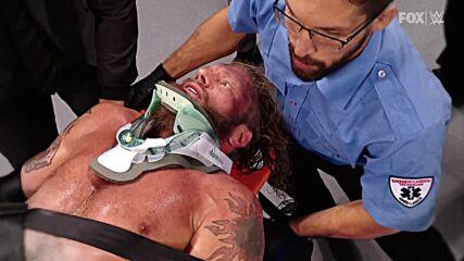 Relive Seth Rollins' devastating Stomp that left Edge injured: SmackDown, Sept. 17, 2021