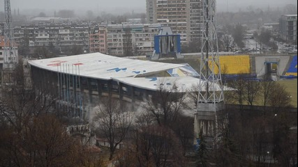 Взривиха сектор А на стадион Георги Аспарухов