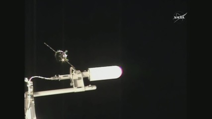 ISS: Soyuz TMA-19M spacecraft successfully docks with ISS