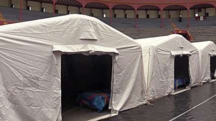 Peru: Lima's traditional bullring transformed into homeless shelter amid COVID-19 outbreak
